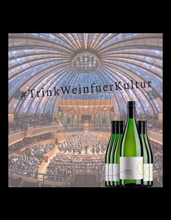 Weinpaket 6x Grauburgunder:Trink Wein für Kultur!